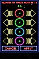 Screenshot of Puzzle Neon Rings