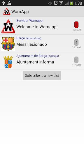 【免費通訊App】WarnApp-APP點子