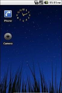 Tiny Gold Clock Widget - screenshot thumbnail
