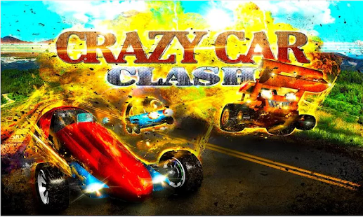 CRAZY CAR CLASH Turbo Racing - screenshot thumbnail