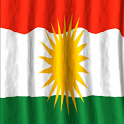 Kurdistan Flag Live Wallpaper icon