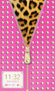 ☀ Hot Pink Studded Zipper ☀- screenshot thumbnail