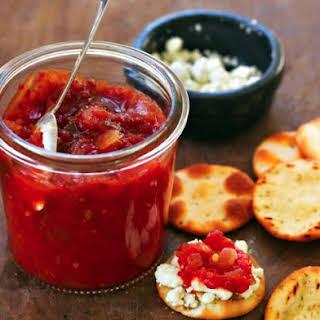 Heirloom Tomato Chutney.