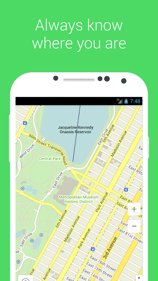 Maps With Me Lite, Offline Map - screenshot