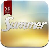Summer Breeze Glass GO Theme