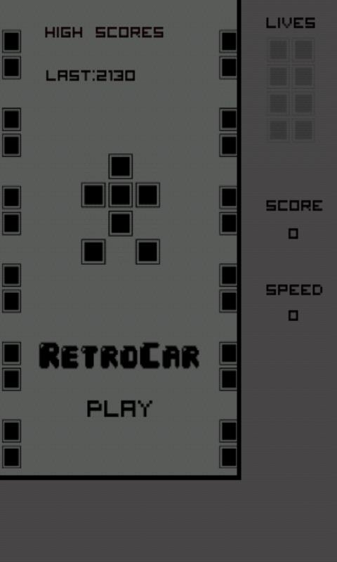 RetroCar - screenshot