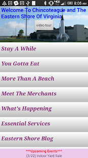 Chincoteague/ES Visitor Guide- screenshot thumbnail