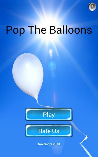 Pop The Balloons