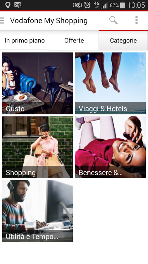 Vodafone My Shopping - screenshot