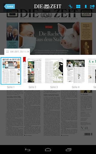 【免費新聞App】DIE ZEIT E-Paper App-APP點子