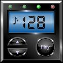 Digital metronome icon