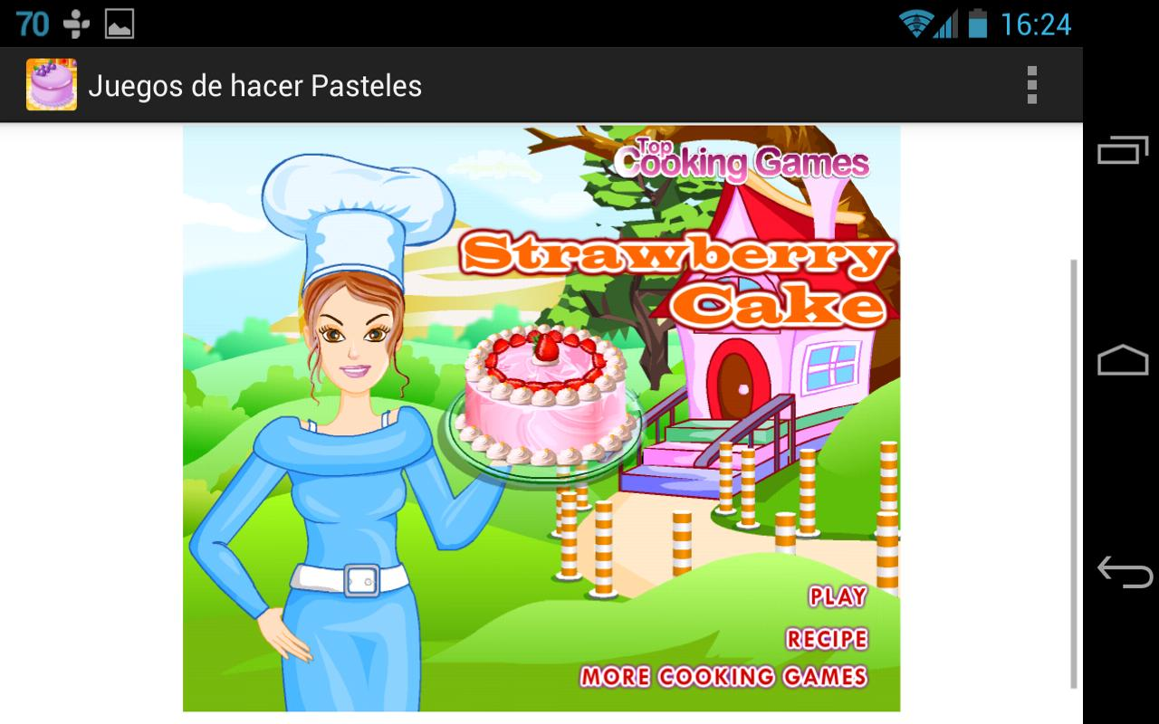 Making Cakes Games - screenshot