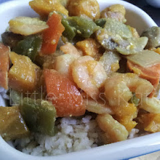 Sweet Potato and Shrimp Curry