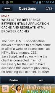 HTML5 Interview Questions- screenshot thumbnail
