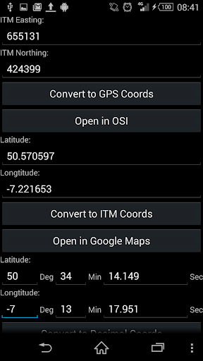 ITM To GPS