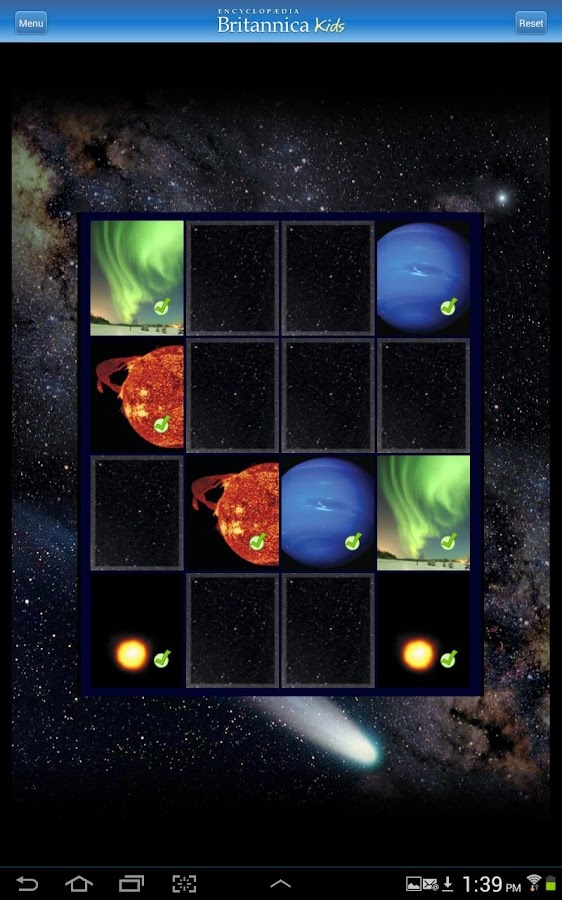 Britannica Kids: Solar System - screenshot