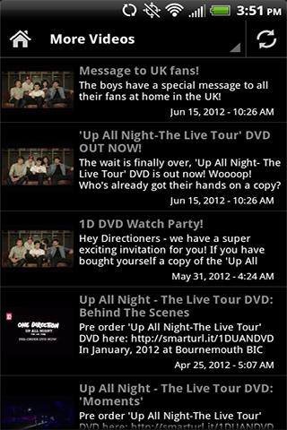 One Direction News Videos - screenshot