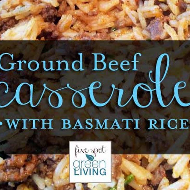 Ground Beef Casserole with Basmati Rice