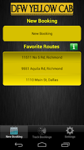 Yellow Cab Dallas Fort Worth- screenshot thumbnail