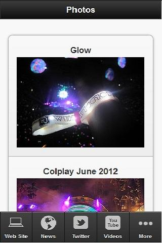 Coldplay Universe - screenshot