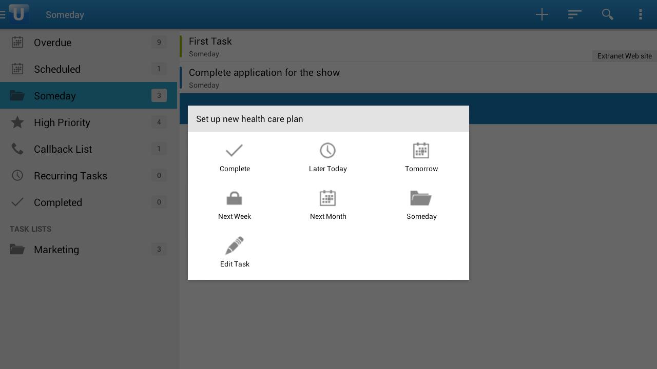 Upvise Pro CRM - screenshot