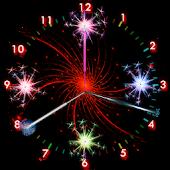 Sparks Analog Diwali Clock