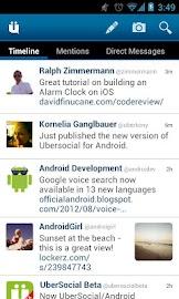 UberSocial for Twitter Screenshot 1