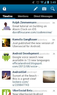 UberSocial for Twitter - screenshot thumbnail
