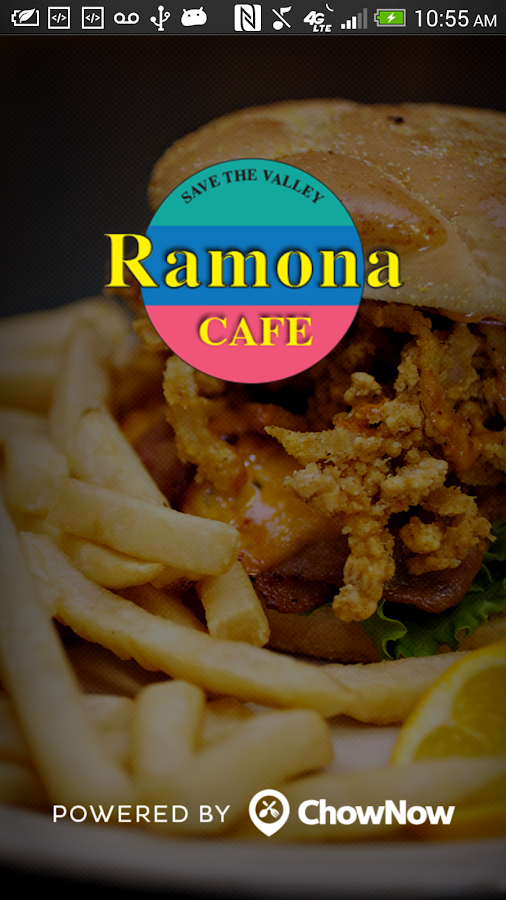 Ramona Cafe- screenshot