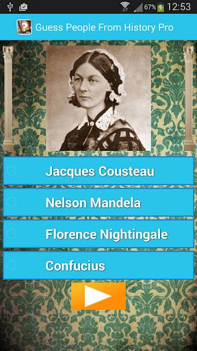 【免費益智App】Guess People From History-APP點子
