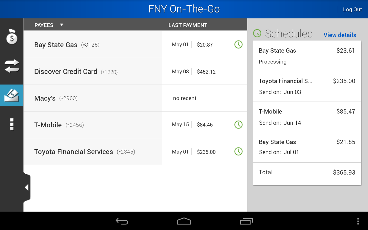 First New York FCU - screenshot