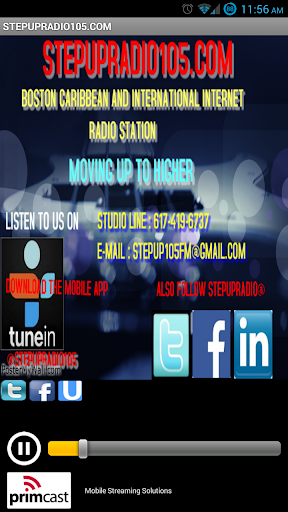 STEPUPRADIO105.COM
