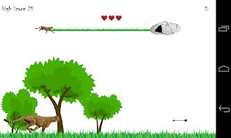 Screenshot of Animal Run - Cheetah