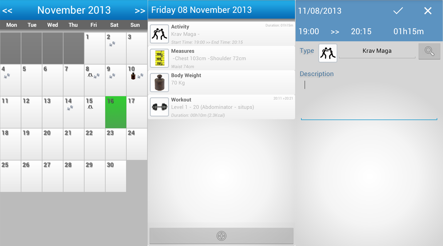 Gymme - Gym Personal Trainer - screenshot