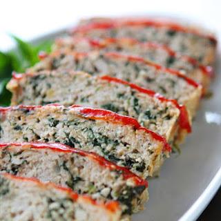 Turkey Meatloaf Florentine.