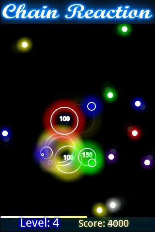 Glow Chain Reaction- screenshot