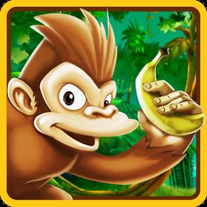 Monkey Jungle Bananas Run for PC and MAC