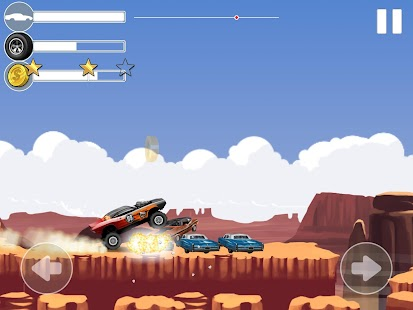 Monster Car Stunts- screenshot thumbnail