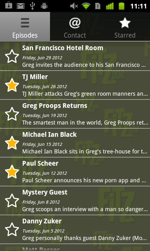 Fitzdog Radio - screenshot