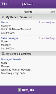 Monster Job Search - screenshot thumbnail