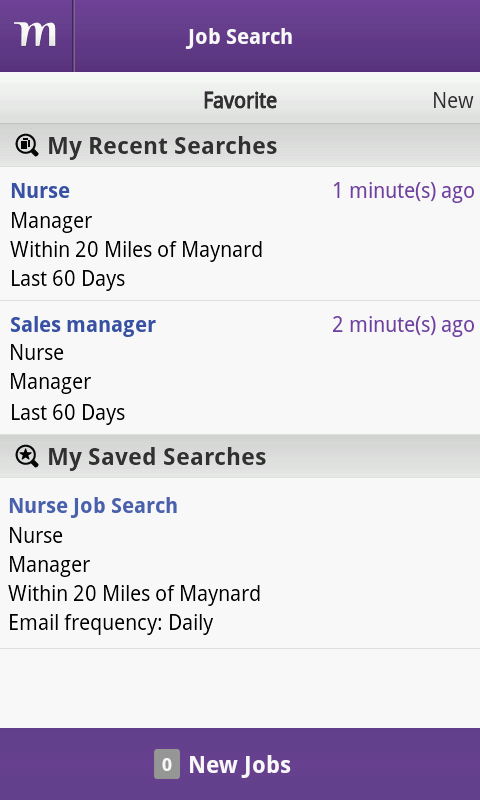 Monster Job Search - screenshot