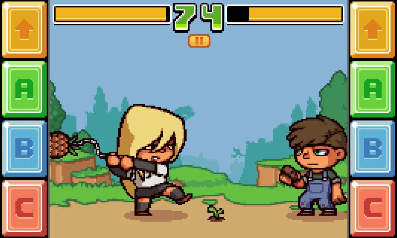 Healthy Weapon Demo- screenshot