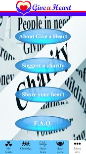 Give a Heart to Charity- screenshot thumbnail
