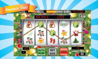 Screenshot of Mega Christmas Slot Machine