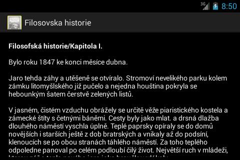 Filosovska historie A.Jirasek