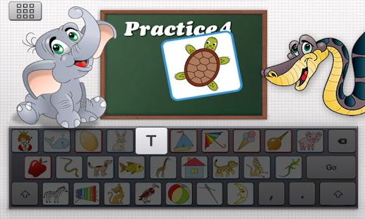 Clever Keyboard: ABC Learning- screenshot thumbnail