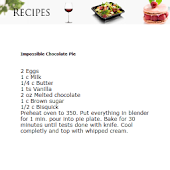 Chocolate Recipes Freebie
