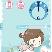 CUKI Theme Lovely Girl