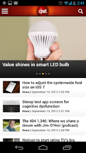 CNET - screenshot thumbnail
