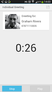 HulloMail Smart Voicemail - screenshot thumbnail